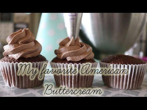 My Favorite American Buttercream Recipe! (Vanilla and chocolate)