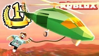 ROBLOX JAILBREAK ARMY HELICOPTER!! (Anniversary Update)