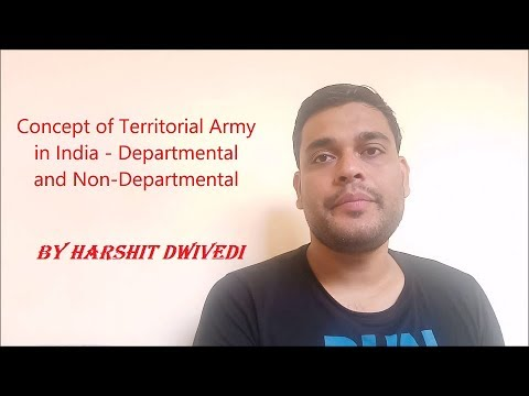 What is Territorial Army of India