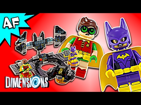 Lego Dimensions Batman Movie Batwing, Black Thunder, Bat-Tank 71264 Speed Build Instructions
