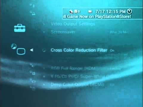 How to make Ps3 Video Quality Clearer