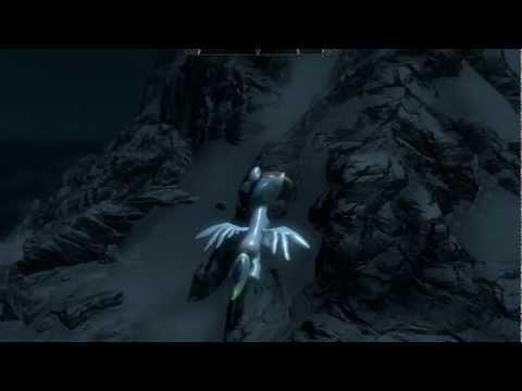 Skyrim rideable flying pony dragons
