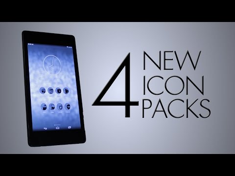 Icon Overview ~ 4 New Icon Packs