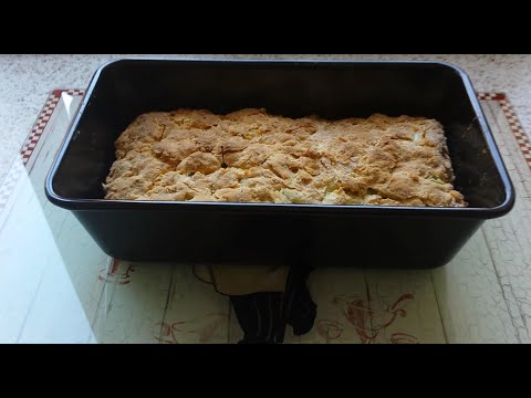 HOW TO MAKE AN EASY CHEESE  AND CELERY LOAF !!!!!!!!!!!!!!!!!!!!!!!!!!!