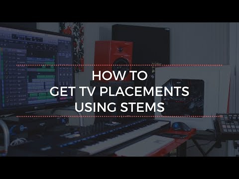 How To Get More TV Placements with Stems