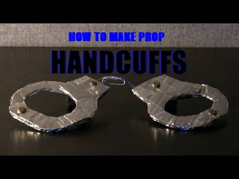 How to Make Prop Handcuffs