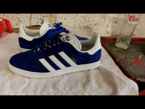 How to Clean Adidas Original Trainers Cheap and Easy! - Ft Gazelle II's
