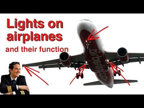 LIGHTS on Airplanes explained by