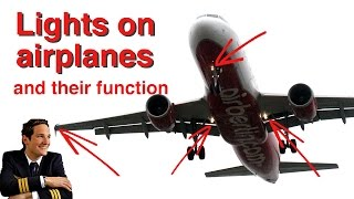 Lights On Airplanes Explained By &