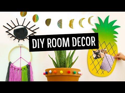 DIY Room & Dorm Decor Ideas! | Sea Lemon