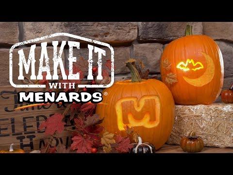 Power Tool Pumpkin Carving - Make It With Menards