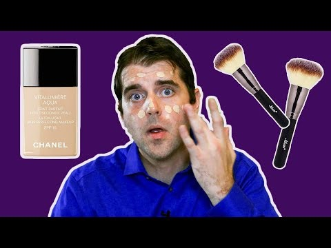 MAN TRIES CHANEL FOUNDATION | Makeup Tips for Men | Get Ready With Me (+ Jack Daniel's Whiskey)