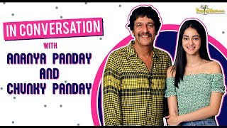 Download Ananya Panday and Chunky Panday get candid about Father's Day as they take us down the memory lane Video