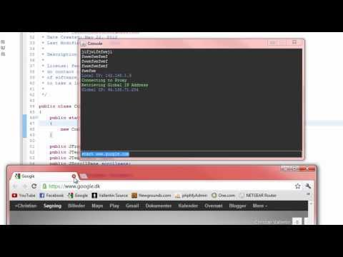 Java Tutorial - Console Like Windows Command Prompt (Part 1)