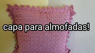 Almofada de crochê fácil/ como fazer almofada de crochê