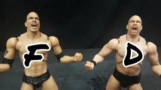 S. H. Figuarts WWE Stone Cold Steve Austin and The Rock Figure Review