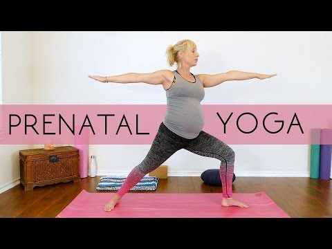 Prenatal Yoga for Beginners, All Trimesters, Weight Loss & Flexibility for Healthy Moms