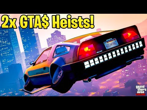 GTA Online 2X GTA$ ON HEISTS & CONTACT MISSIONS! Best Ways to Make Money This Week!