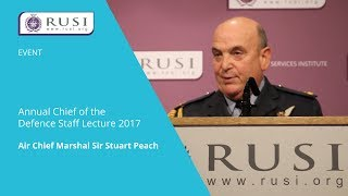 2017 Chief of the Defence Staff Lecture