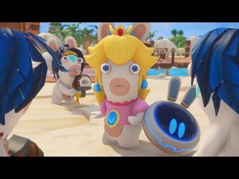 BAD BANANAS?! | Donkey Kong Adventure DLC Gameplay Part 3! [Mario + Rabbids Kingdom Battle]