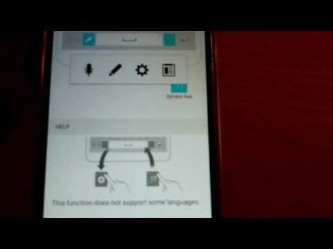 Setup keyboard speak to text LG Stylo 2