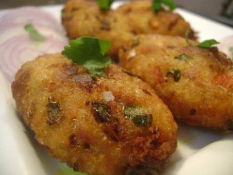 Vegetable Rice Kabab (Cutlets) - वेज चावल के कबाब