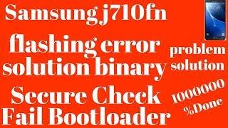 J710F & FN Unknown Baseband & Imei Restore Fix