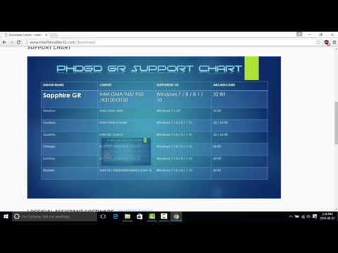 How to get modded drivers for all Intel HD Graphics 2017