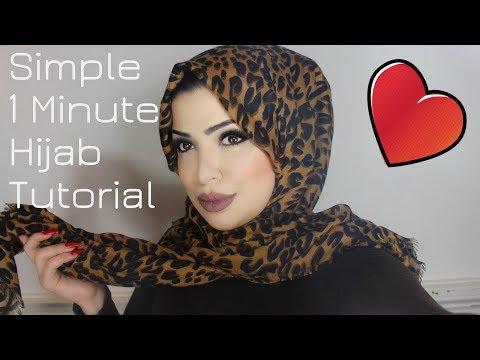 1 Minute Simple Hijab Tutorial