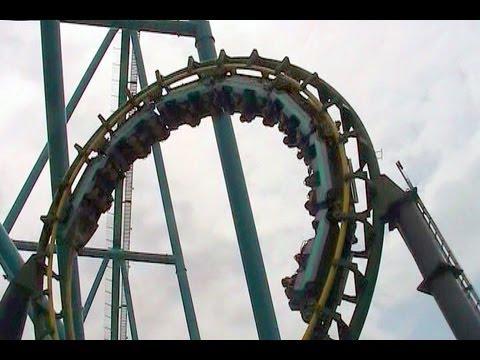 Dragon Fire off-ride HD Canada's Wonderland