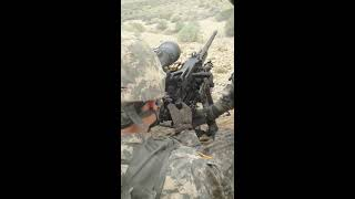 M2 .50 cal machine gun shoot
