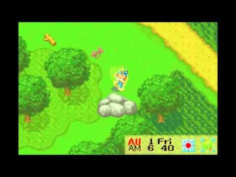 Giant Rock at Mother Hill (Harvest Moon Friends of Mineral Town)