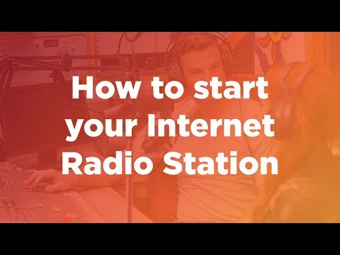 Webinar: How to start your own internet radio station 🎙