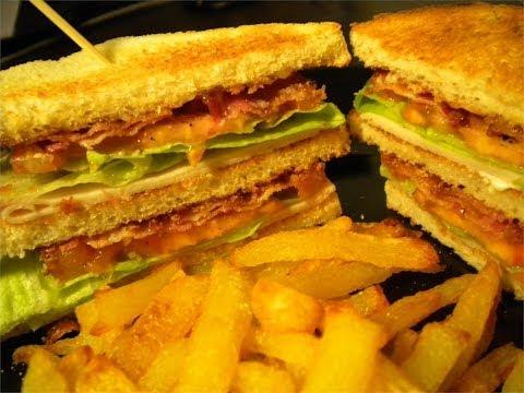 Best Double Decker Clubhouse Sandwich