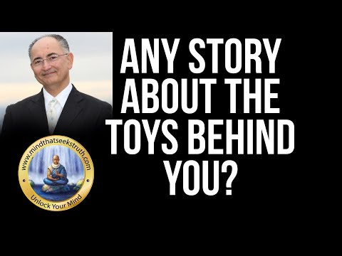Whats The Story Of The Stuffed Animals Behind You?  Q & A Live Talk # 154