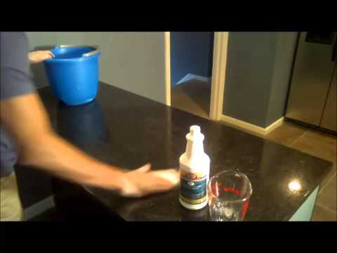 Granite Countertop Soap Film Removal