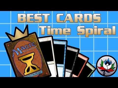 MTG – The Best Magic: The Gathering Cards Ever Printed – Time Spiral!