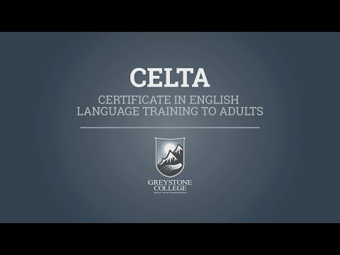 Explore a career in teaching with Greystone College's CELTA Program