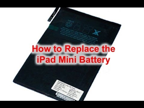 How to iPad Mini Battery Replacement