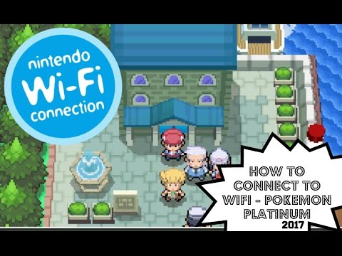 How to connect to Wifi - Pokemon Platinum ( 2017) With DeSmuMe Wifi