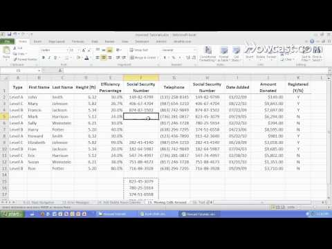 How to Move a Cell Around | Microsoft Excel