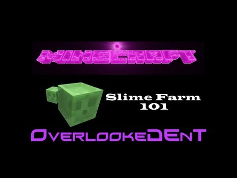 Slime Farm 101 - Minecraft Xbox 360/PS3 - [Tutorial]
