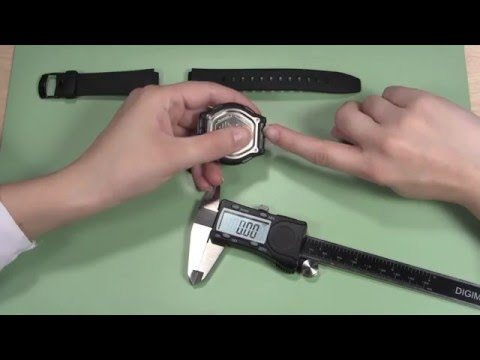 How to Measure a Rubber Sport Watch Band