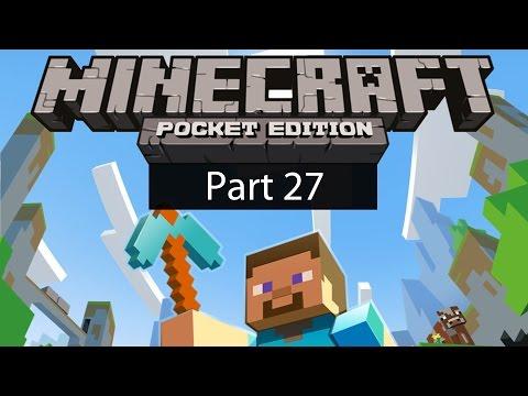Minecraft Pocket Edition Gameplay Part 27: TNT Pink Sheep!