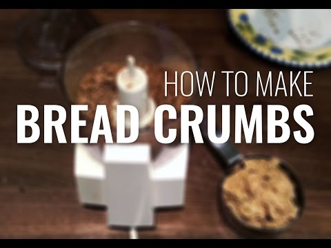 How To Make Bread Crumbs (Even if You Run out of Bread!)