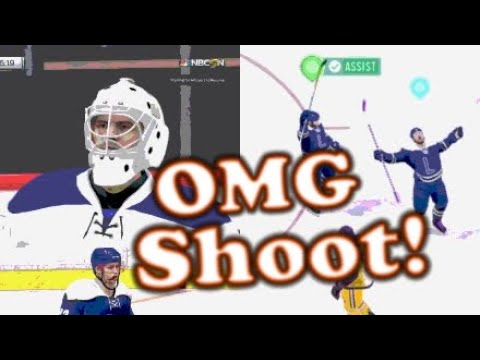 Our Goalie Hates Us | NHL 18 Drop-in Nonsense