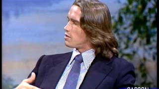 Arnold Schwarzenegger, Exercise 20 Minutes per Day, Part 3 of 3, Johnny Carson