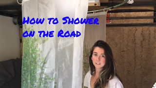 How to Shower on the Road With 3 Gallons Of Water!