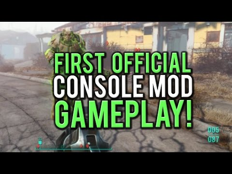 Fallout 4 - Playing THE FIRST EVER XBOX/PS4 MOD! (PC Gameplay)