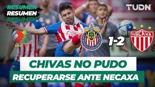 Resumen Guadalajara 1 - 2 Necaxa   Liga Mx Apertura 2019   Jornada 6   TUDN
